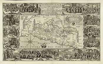 Библейская карта палестины святой