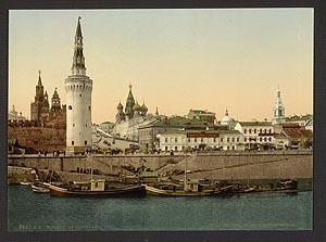Москва кремль и красная площадь 1890г