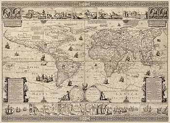 Карта Средневекового Мира