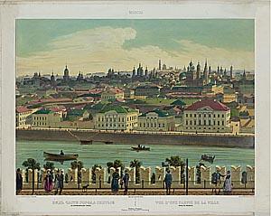 Панорамный вид Москвы