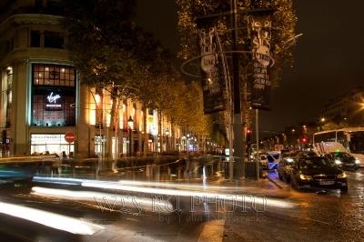 ночной Париж, большое фото