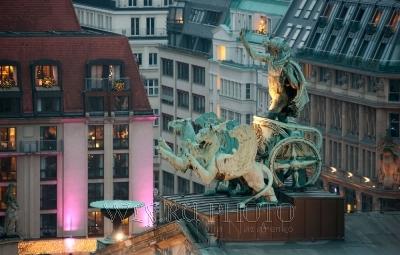 панорамный вид Берлина, фото