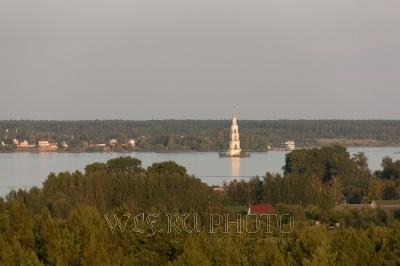 панорама Калязина фото