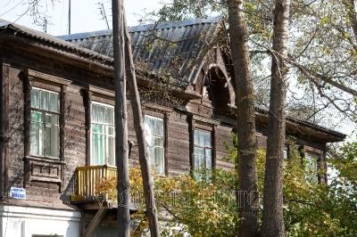 деревянный дом в Калязине фото
