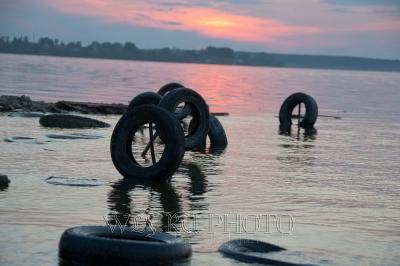 Угличское водохранилище причал фото