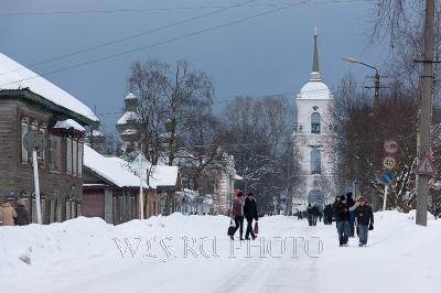 зимний Каргополь фото