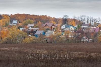 российская современная деревня фото