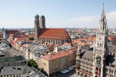 вид Мюнхена, фото
