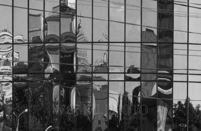 Москва в отражениях