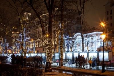 новогодняя Москва большое фото