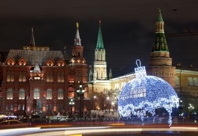 Новый год в Москве, фото