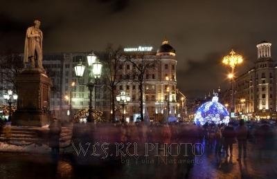 новогодняя Москва, фото