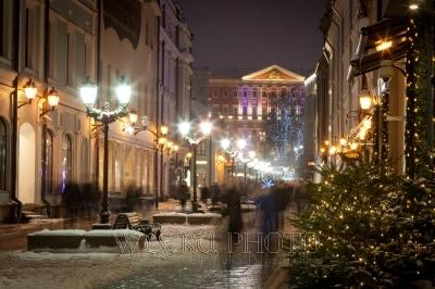 Новый Год в Москве фото