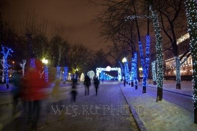 Новый Год в Москве большая фотография