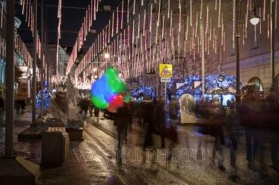 новогодняя Москва 2015 световые инсталляции фото