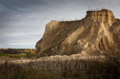 песчаный карьер, добыча ландсбергита