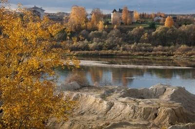 Река Ока фото, берега Оки