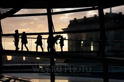 Панорама Берлина. Рейхстаг