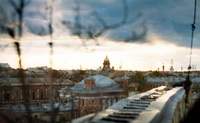 крыши Питера фото белых ночей