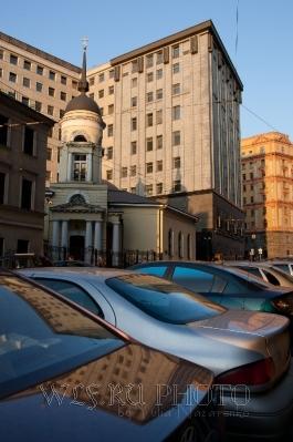 Москва в отражениях в авто