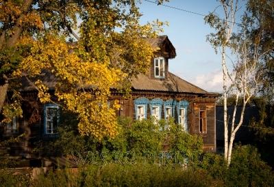 старый деревянный дом в Тутаеве фото
