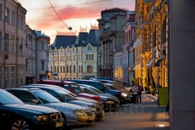 ночная Москва фото