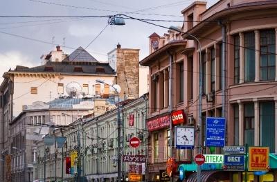 реклама и вывески в старой Москве. Кузнецкий мост.