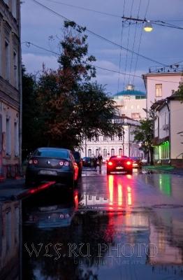 вечерний город фото