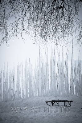 зимняя инсталляция. Каргополь