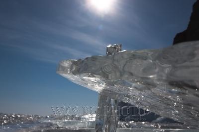 фантастический ледяной пейзаж