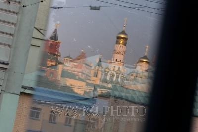 Московский Кремль в отражении