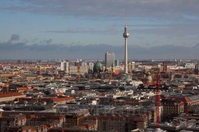 панорамная фотография Берлина
