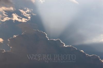 фотография солнечных лучей