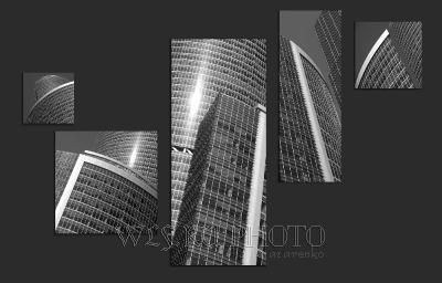 Модульное фотопанно Архитектура купить