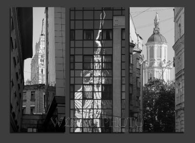 Необычная фото-экскурсия по Москве. Московское зазеркалье.