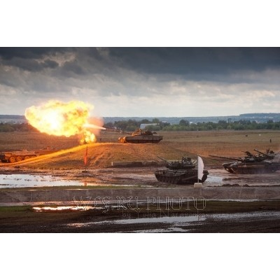 Танковый биатлон: секреты фотосъёмки