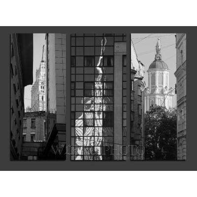 Необычная фото-экскурсия. Московское зазеркалье.